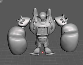 Boxer Blitzcrank 3D Model