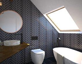 3D modern Modern Bathroom