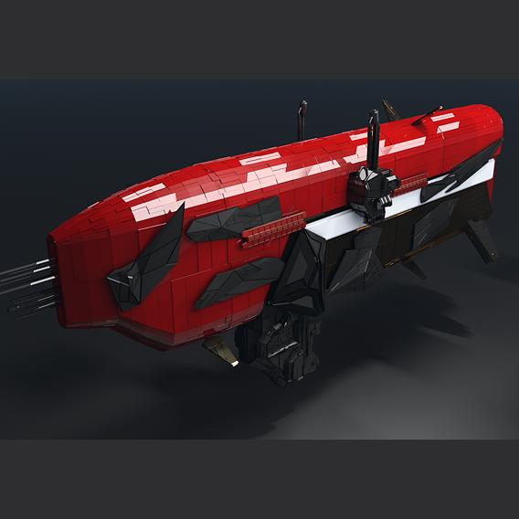 Space cargo ship