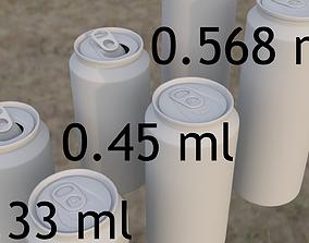 good-quality cans 330 ml 450 ml 568 ml 3D