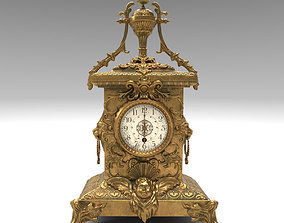 antique clock 3D asset