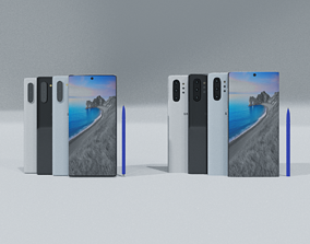 Samsung Galaxy Note 10 And Note 10 Plus 3D model 2