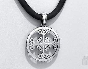 Pendant Celtic cross of invincibility for 3d printing 1