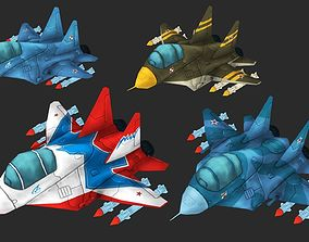 3D asset MiG-29
