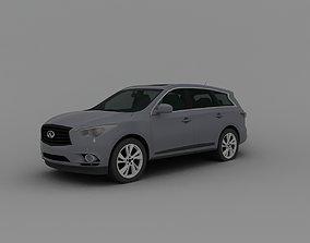 Infinity car concept 3D model