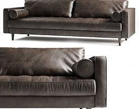 Sofa 3D Model cushion