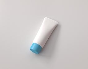 container 3D model Cream Tube