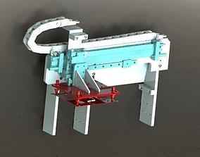 3D model Double cylinder sucking mechanism