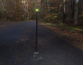 3D asset Street Lighting