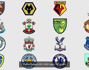 3D Premier League 2021 2022 Logos