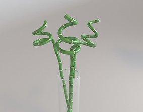 3D model Bamboo in Vase