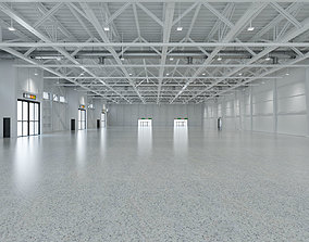 Exhibition Hall interior and exterior 19 3D event