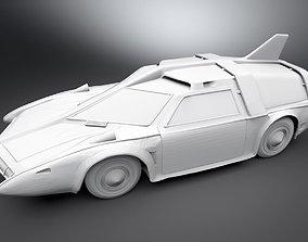 3D print model Spectrum Patrol Car Scale