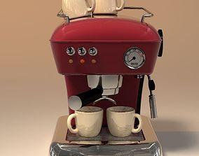 3D model coffeemaker ASCASO