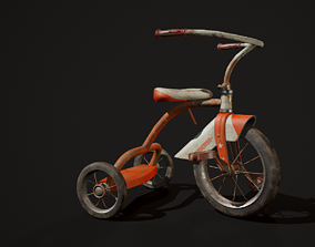 3D model Child Bicycle