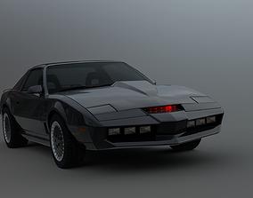 3D model Knight Rider KITT 2000