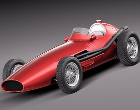 Maserati 250f 1954-1960 grand prix 3D