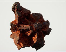 High Quality Procedural Rock 1 3D