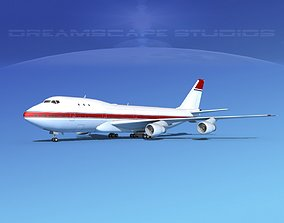 3D model Boeing 747-100 Corporate 2