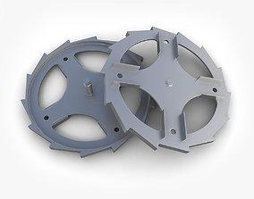 Steampunk Gear 44 3D