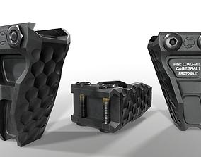 Railscales LDAG Vertical Grip 3D asset