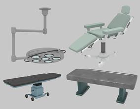 Surgery set 3D asset