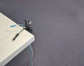 3D print model Kabelhalter