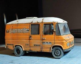 Mercedes Benz 408D - 508D - 608D Panel Van 3D print model