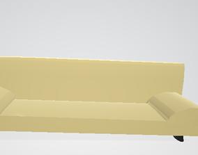Yellow Sofa 3D print model
