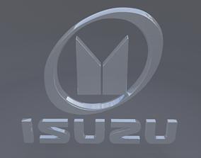 3D supplement isuzu logo