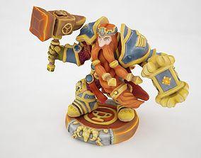 3D asset Magni Bronzebeard