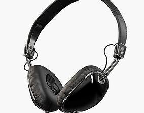 Skullcandy Navigator Black headphones 3D model