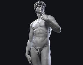 3D Printable David Statue by Michelandgelo museum