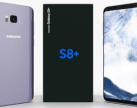 Samsung Galaxy S8 Plus Orchid Gray 3D model