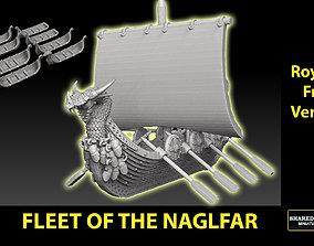 3D printable model Fleet Of The Naglfar 8 Ships Royalty 1