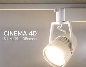 LED SPOT LIGHT - C4D XPresso 3D model