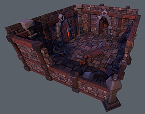 3D asset Old Dungeon