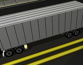 3D asset Aeromax Semi Truck