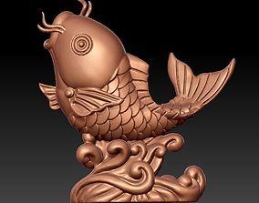 surge 3D print model big fish