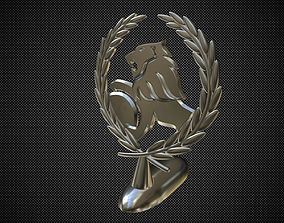 holden hood ornament 3D model