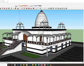 TEMPLE SKETCHUP FILE ONLY 3D model