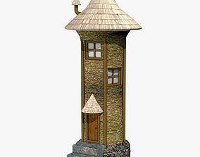 Medieval Tower Building 3D model