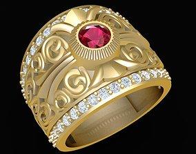 3D printable model 1789 Luxury Korea Men ring