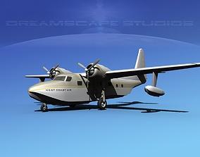 3D Grumman G-73 Mallard West Coast Air