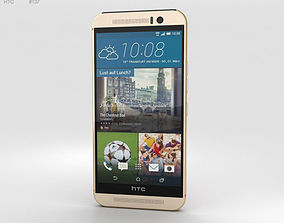 HTC One M9 Gold Pink 3D