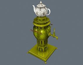 3D model Brass Samovar