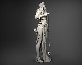 Fantasy Female Character 3D print