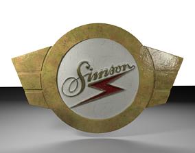 Simson IFA Bird Series Emblem 3D