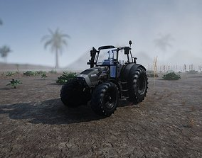 3D asset Tractor Unreal Ready