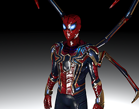3D asset Spider-Man from Infinity War and Endgame -